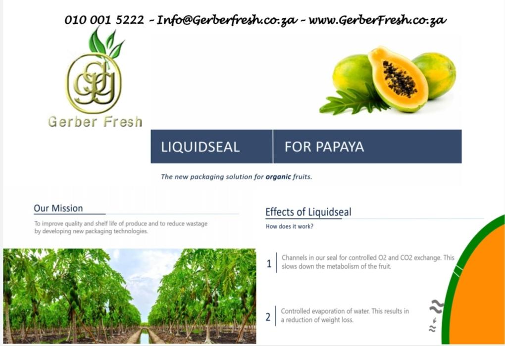 Gerber Fresh - Liquidseal Papaya