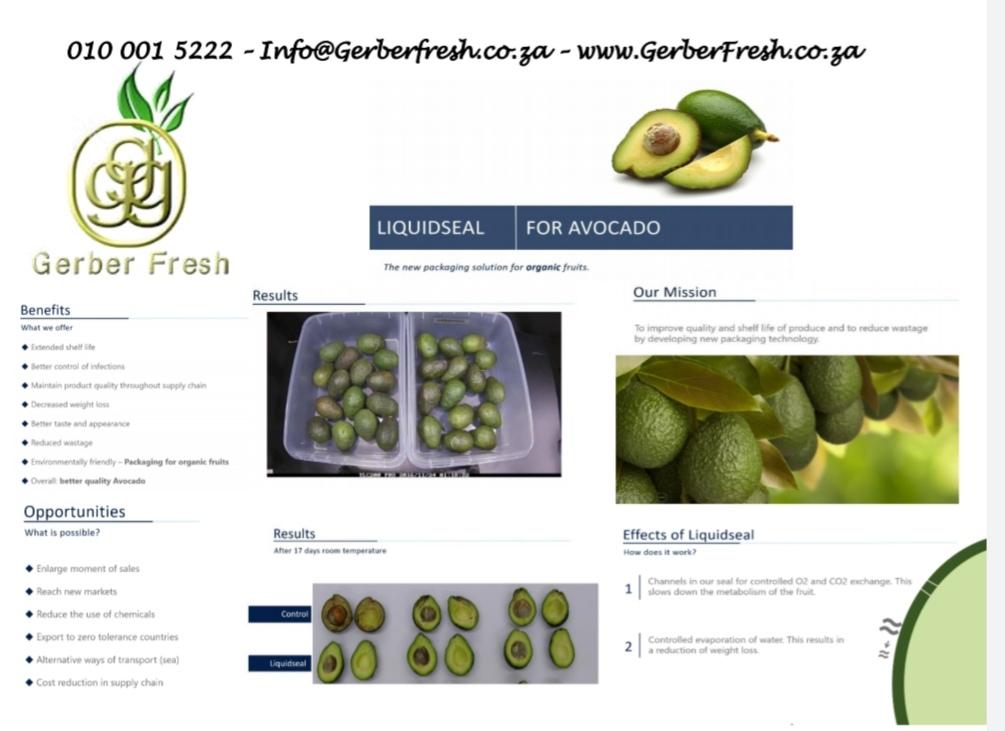 Gerber Fresh - Liquidseal AVOS